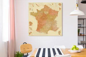 Map France Persépolis