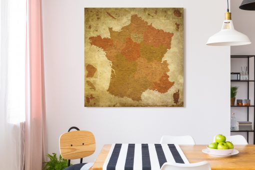 Map France Pétra