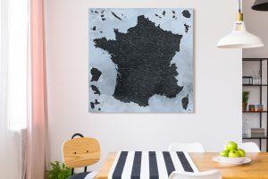 Map France Trolltunga