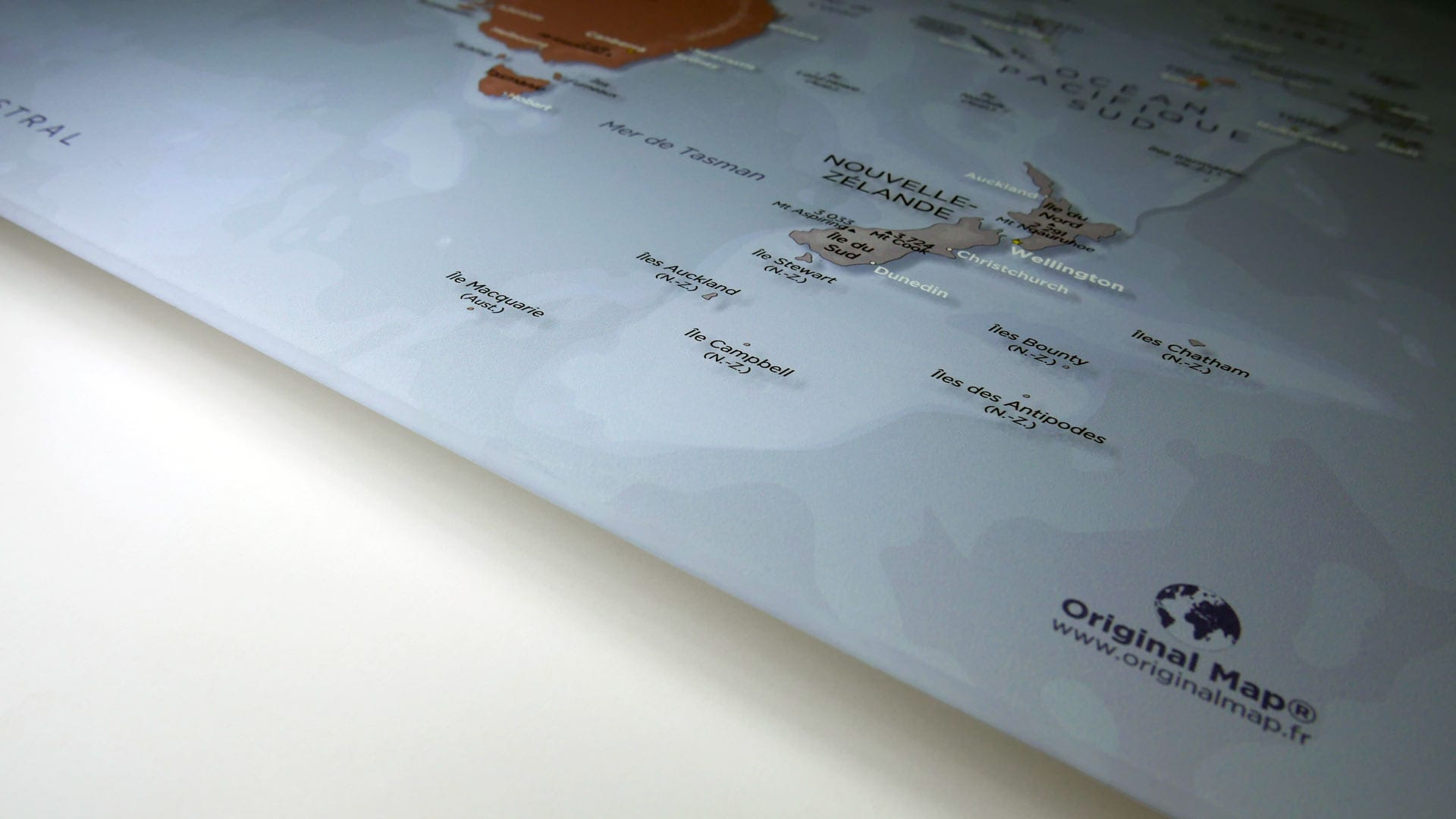 ORIGINAL MAP® - LE PLEXIGLAS® RECTO-VERSO