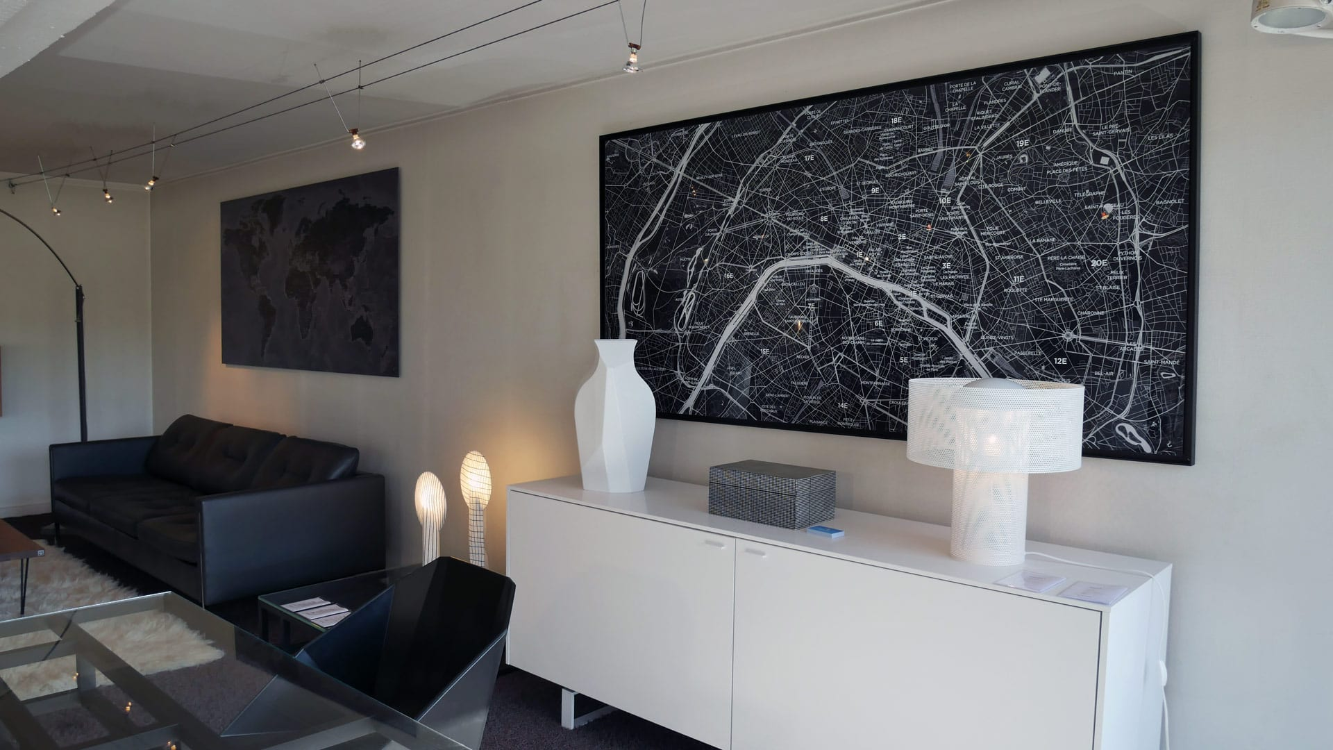 ORIGINAL MAP - LIGNE ROSET
