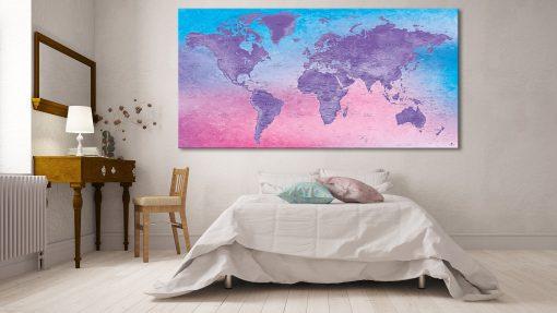 Carte Monde Affiche