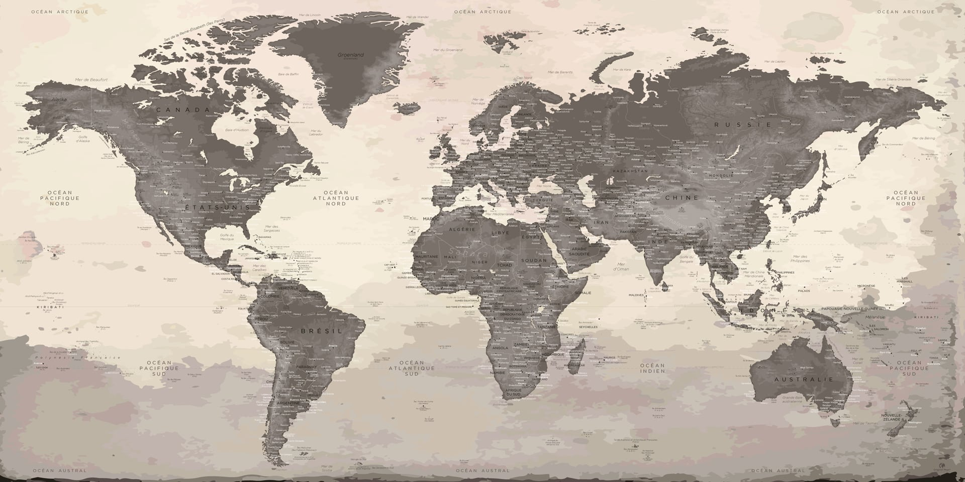 Carte Monde.Carte Monde Murale Peyrepertuse