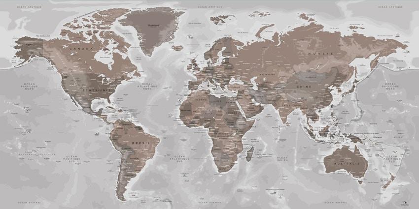 Mappemonde Göreme