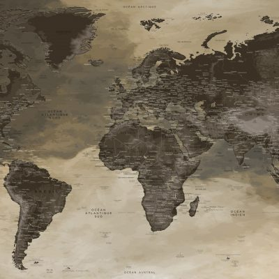 Planisphère Monde
