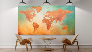 Planisphère Tableau
