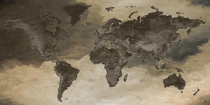 Planisphère Monde - Gobekli-Tepe