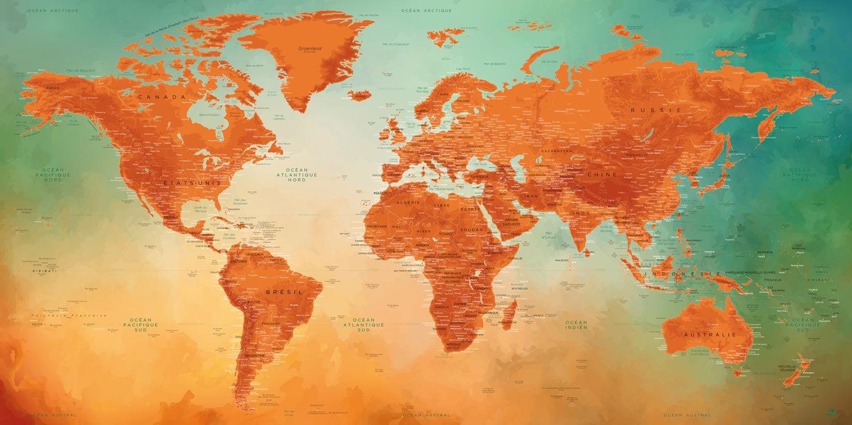 Planisphère Tableau - Vésuve