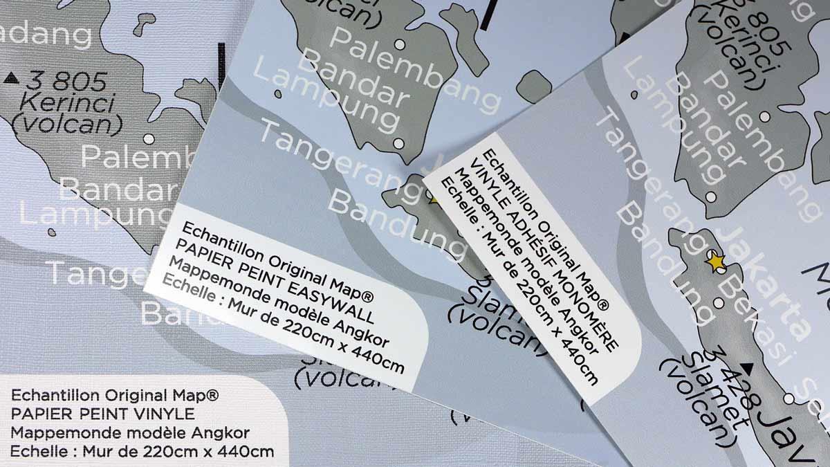 ORIGINAL MAP® - ECHANTILLONS PAPIERS PEINTS