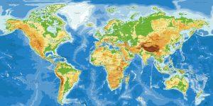 Carte du Monde - Agora - Original-Map