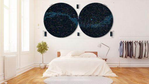 Carte Ciel - Classique - Plexiglas Transparent