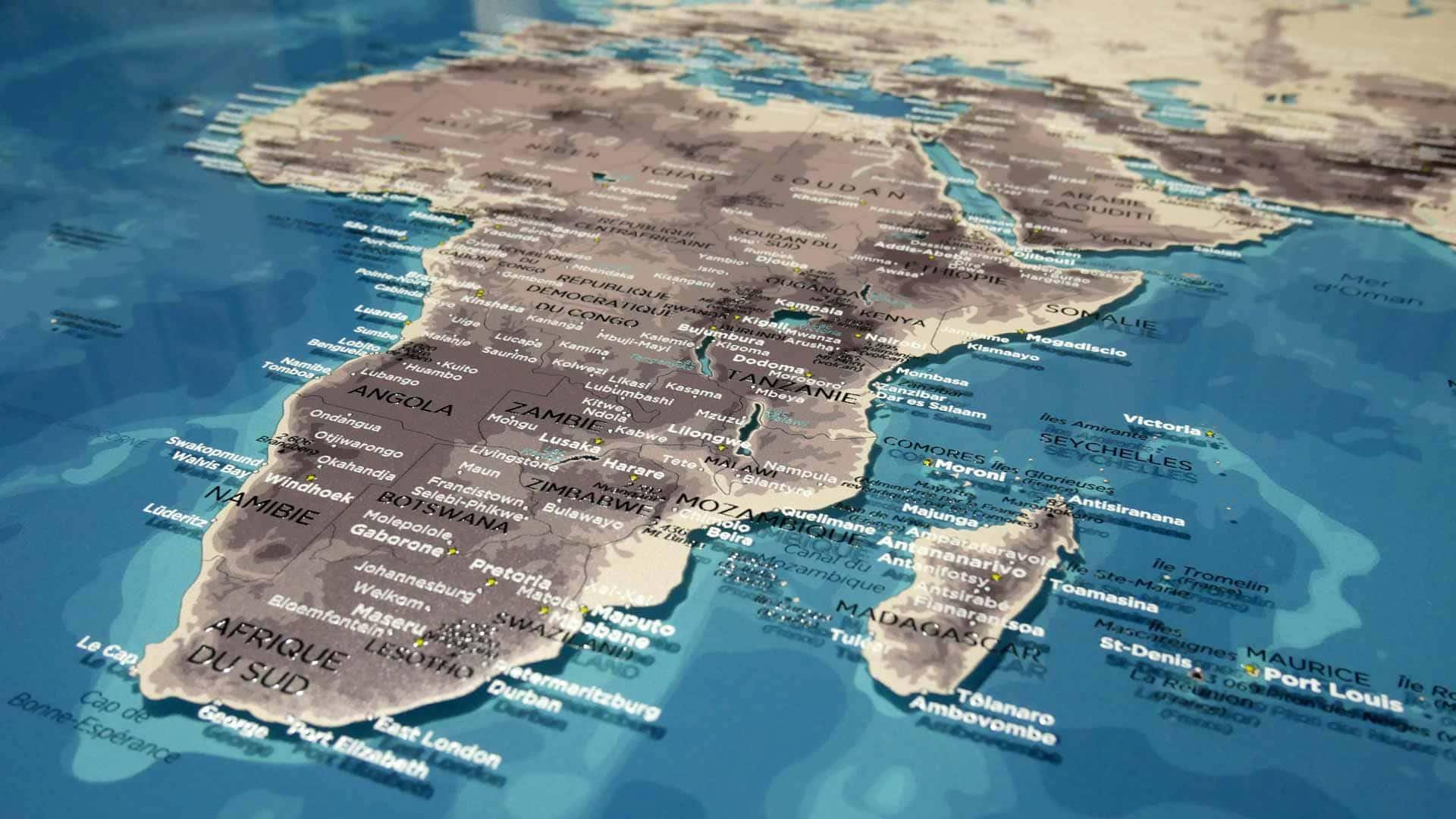 ORIGINAL MAP® - LE PLEXIGLAS® RECTO-VERSO