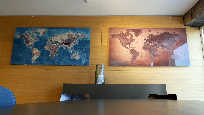 Carte Mondiale - Recto-Verso