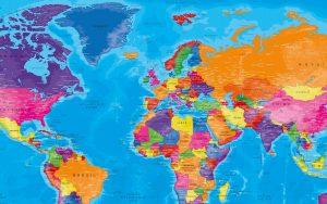 Carte Monde Politique