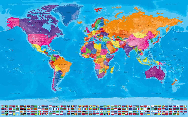 Planisphère Antarctique - Agora