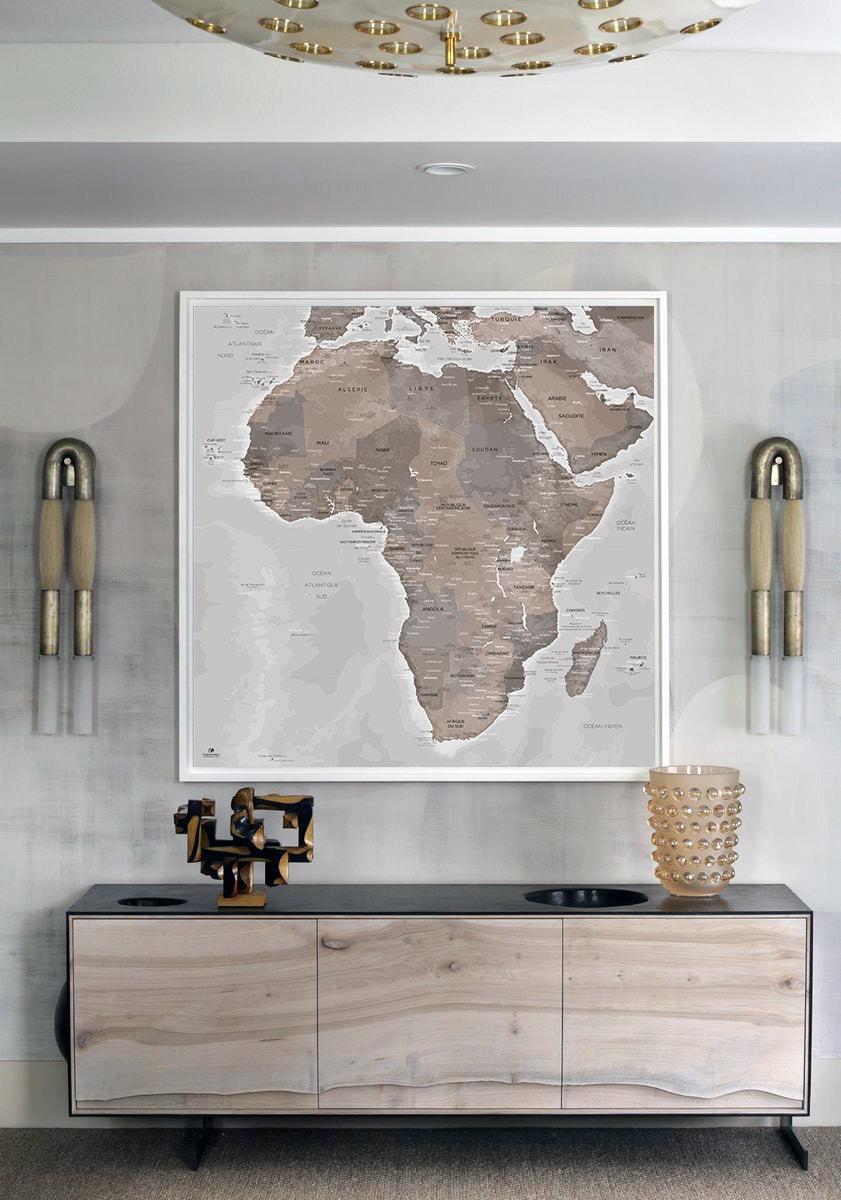 Carte Afrique - Map Afrique