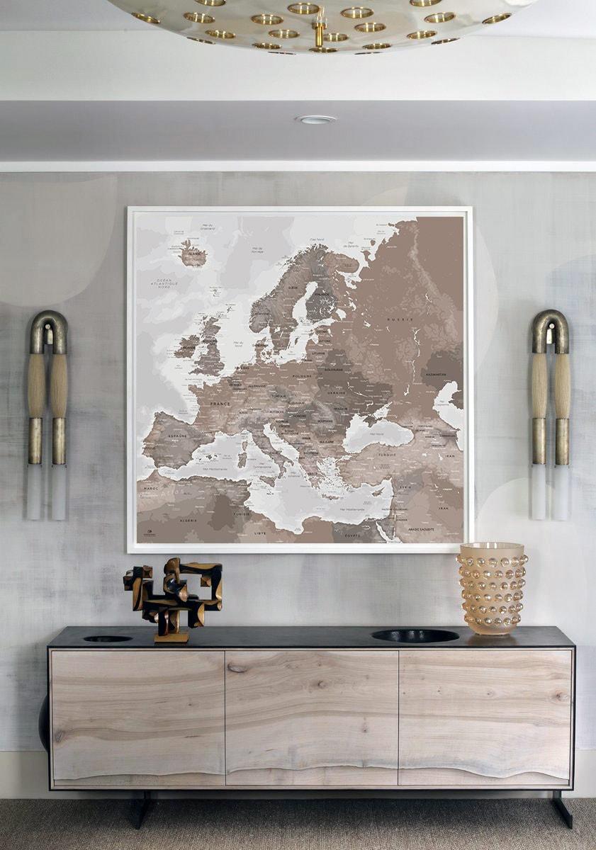 Carte Europe - Map Europe