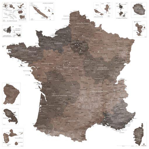 CARTE-FRANCE-Göreme