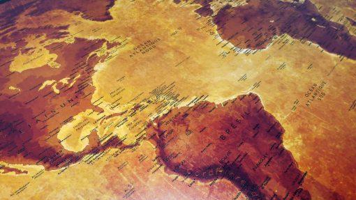 Mappemonde Vintage - Gizeh