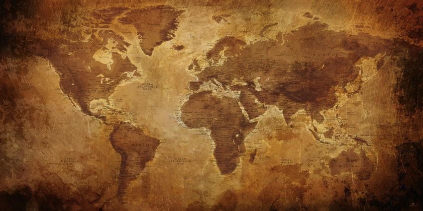 Carte monde Ancienne – Gizeh