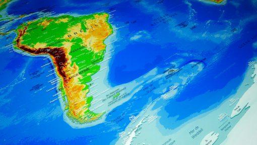 Mappemonde - Antarctique - Agora